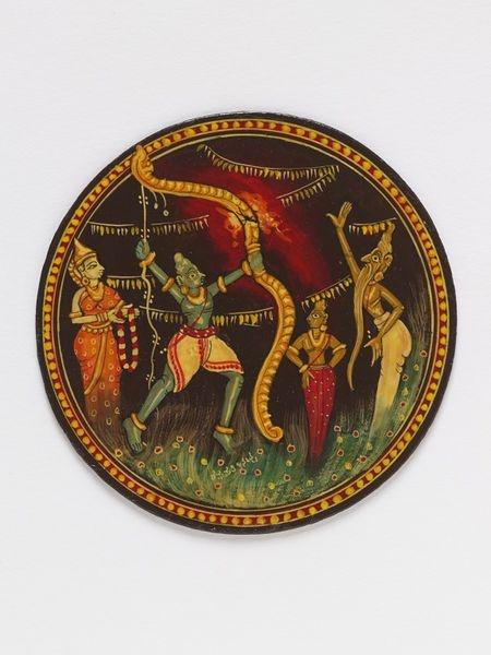 Ganjifa playing cards | Bhat, Raghupathi, 1992 | V