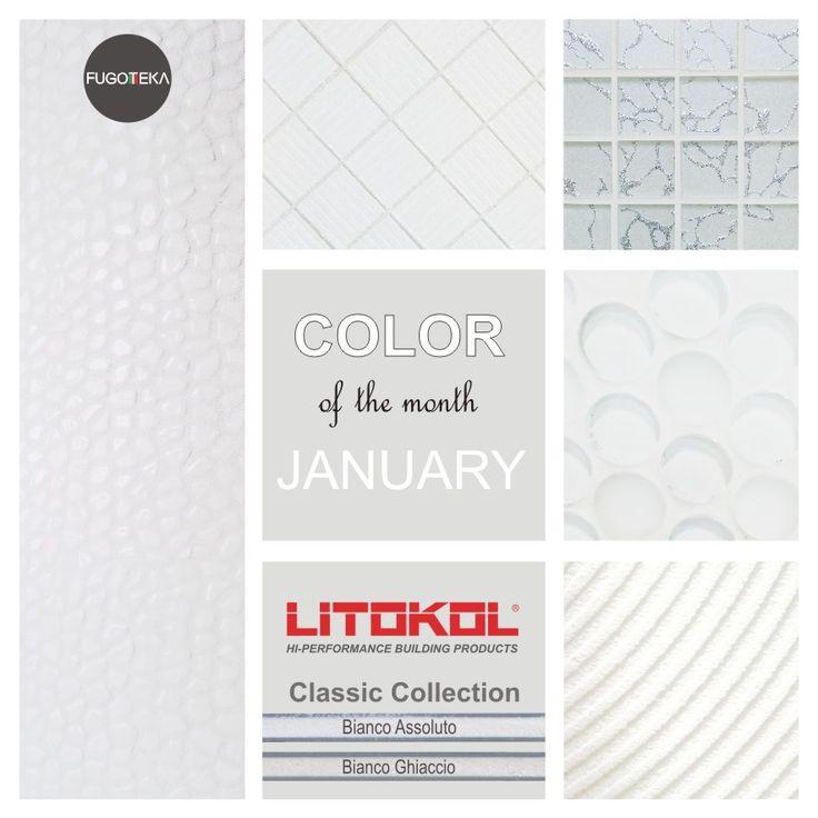 Color January Starlike Classic Bianco Assoluto Bianco Ghiaccio