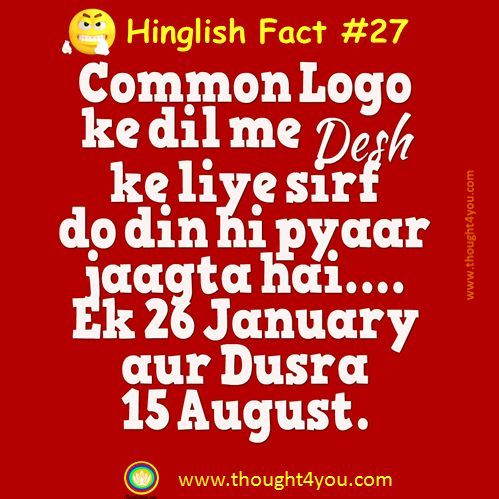 Hinglish, Hinglish Fact , Hinglish to English, hindiattitude, attitudehindi , Facts, Facts in India , Amazing Facts, fACT ON cOUNTRY, DESH, cOUNTRY