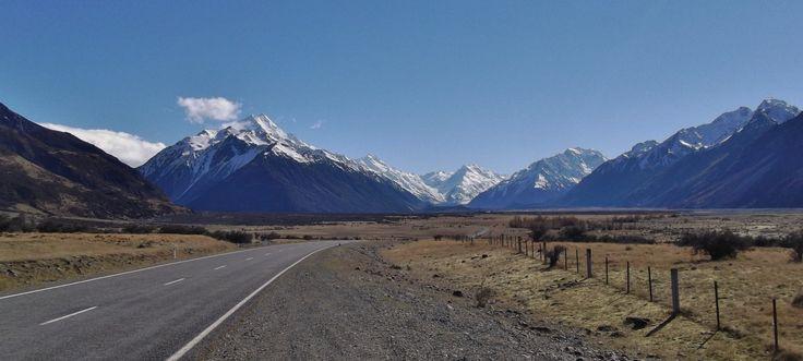 Road to Mt Cook, New Zealand - by Jon Reid