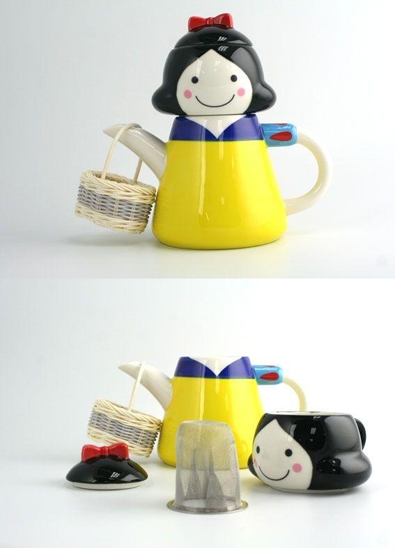 snow white tea set