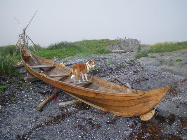 Viking re-enactment village of Norstead, Newfoundland