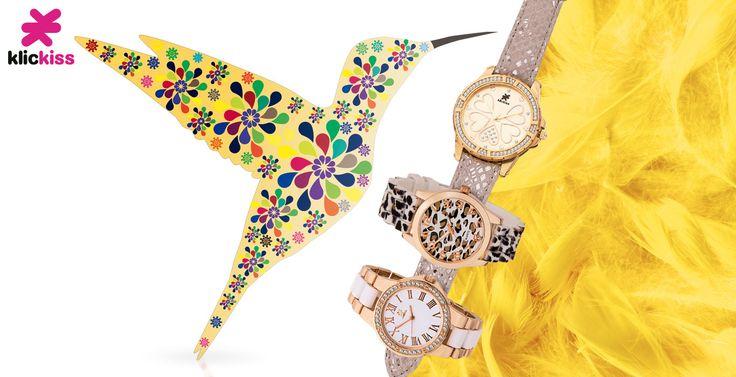 Relojes de la marca KLICKISS de CRISTIAN LAY. Marca juvenil y asequible.  www.cristianlay.com