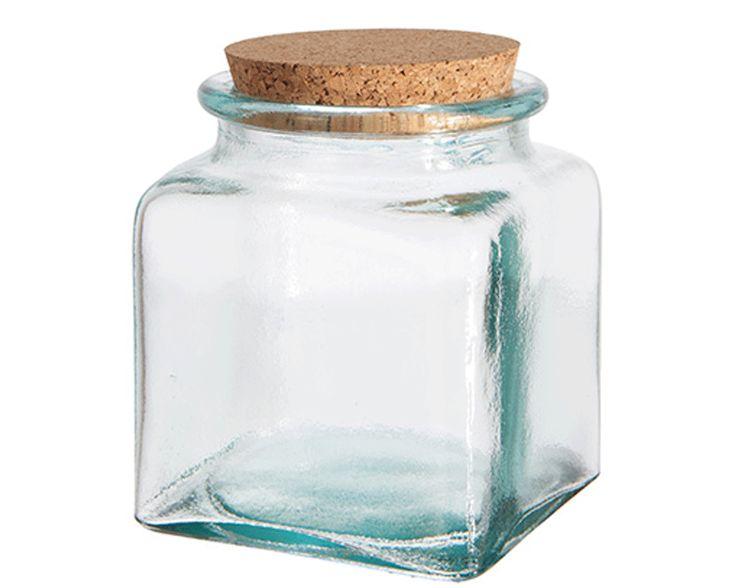 Glasburk med korklock 16,5 cm, Affari