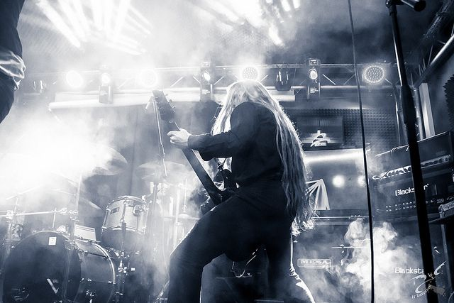 Vulture Industries at Wydzial Remontowy - Gdansk, Poland #metal #livemusic