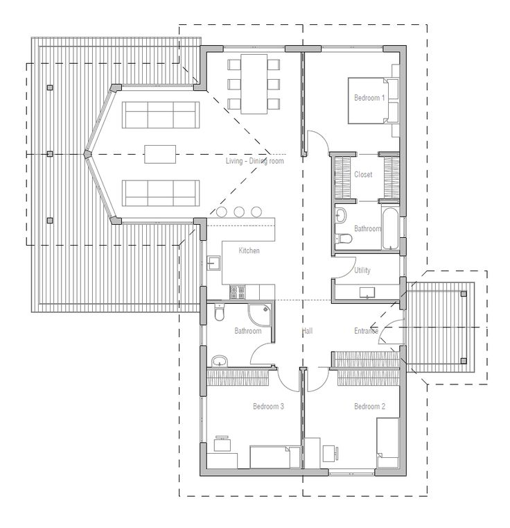 Hauspläne grundrisse  169 besten planos Bilder auf Pinterest | Grundrisse, Architektur ...