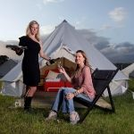 Pop-Up Hotel tent, Glastonbury Festival