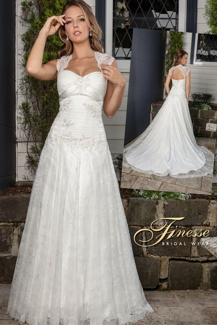 Gorgeous Wedding Dress for Fuller Figure from Finesse Bridal Wear in Listowel, Co Kerry