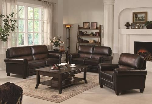 Best Brown Leather Grey Walls For The Home Pinterest 640 x 480