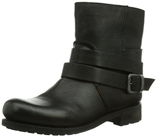 Blackstone IL95 BLACK SHEEPSKIN, Damen Biker Boots, Schwarz (black), 39 EU (5.5 Damen UK) - http://on-line-kaufen.de/blackstone/39-eu-5-5-damen-uk-blackstone-il95-old-yellow-damen-2