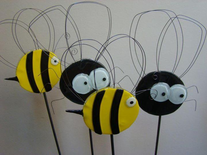 Tutores en forma de abejorro, arañas, etc., para colocar en ramos de flores o…