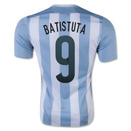 2015 Argentina Soccer Team Home Batistuta #9 Replica Jersey 2015 Argentina Soccer Team Home Batistuta #9 Soccer jerseys|cheap Agentina football jerseys sale