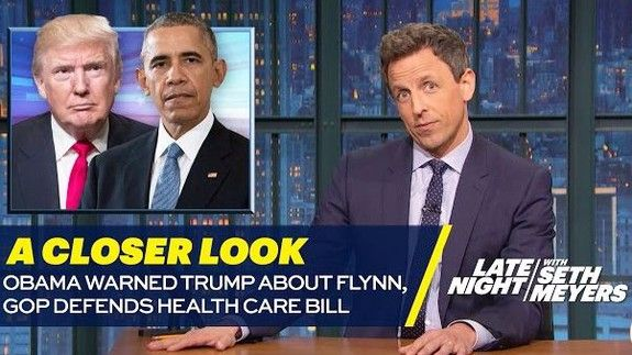 Apparently Paul Ryan emailed Seth Meyers about some health care bill jokes