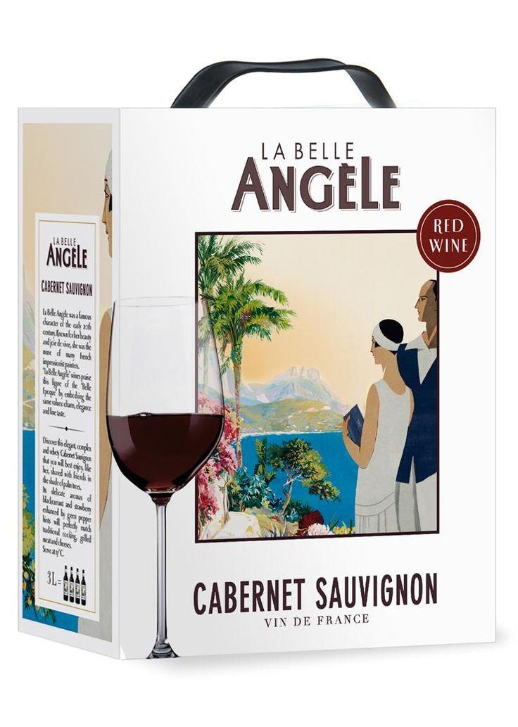 La Belle Angèle Cabernet Sauvignon 2013 hanapakkaus