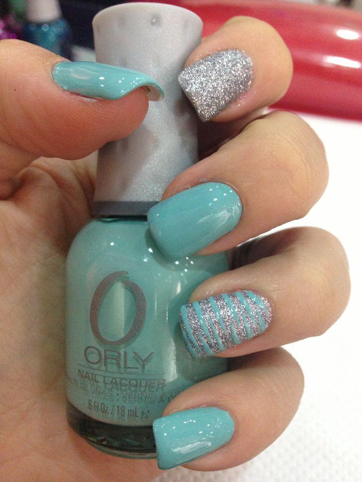Aqua nails - Best 20+ Aqua Nail Polish Ideas On Pinterest Bright Blue Nails