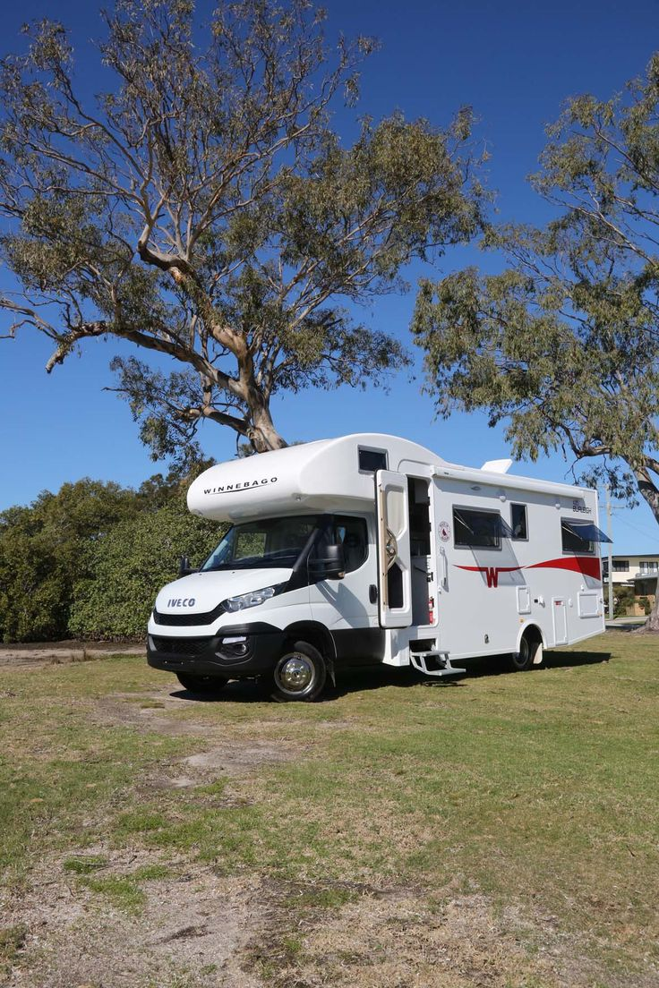 The new Winnebago Burleigh – a C-class motorhome on the latest Iveco Daily cab-chassis.