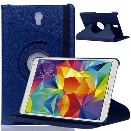 360 Rotating Folio Smart Case Cover For Samsung Galaxy Tab S 8.4 SM-T700/T705 Tablet For Galaxy Tab s 8.4 inch Protective Case