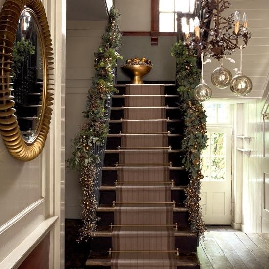 Hallway Decor Ideas Classy Hallway Design And Style Ideas: Modern Country Style: Top Ten Modern Country Christmas