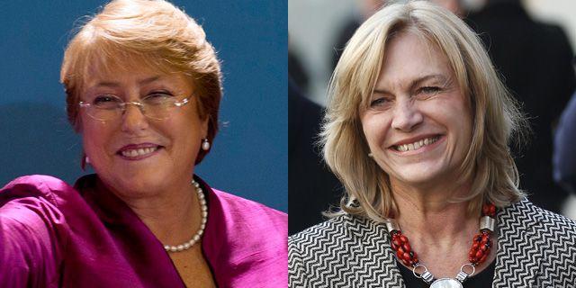 Por primera vez en la historia de Chile dos mujeres se disputan el poder ante las próximas elecciones del 17 de noviembre: Michelle Bachelet  y Evelyn Matthei