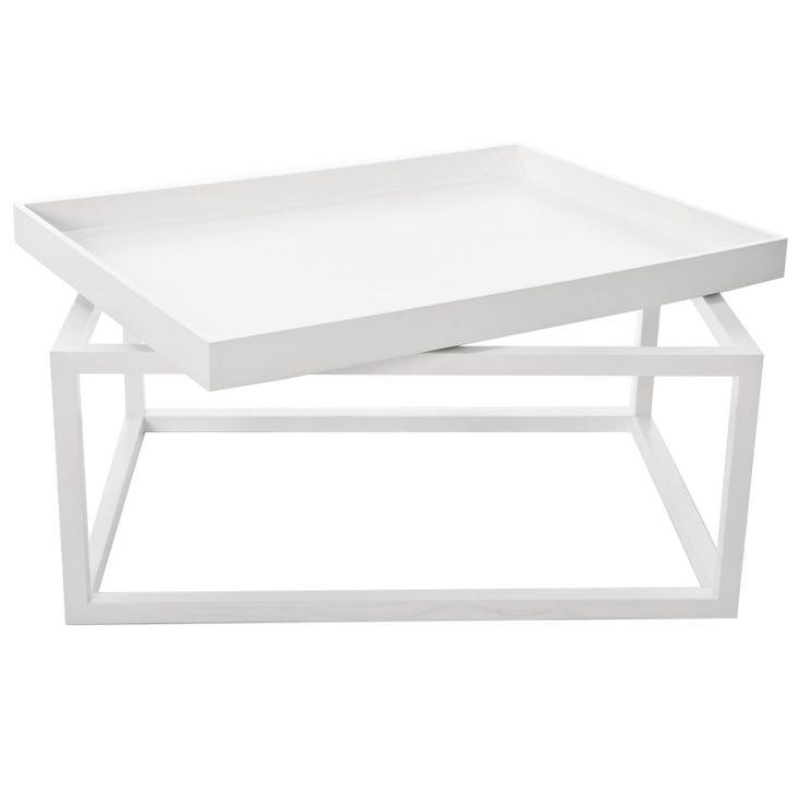 TIP Sofa Table White Stolik - NORR11 - DECORTIS.COM