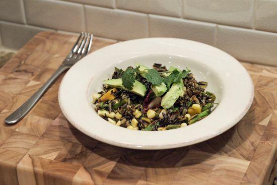 Mexican Wild Rice Salad (Insalata di Riso Selvatico alla Messicana)