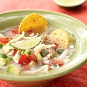 Tortilla Soup: Healthy Summer, Canyon Ranch, Tortillas Soups, Roasted Chicken, Ranch Tortillas, Chicken Strips, Healthy Soups, Grocery Stores, Summer Recipes