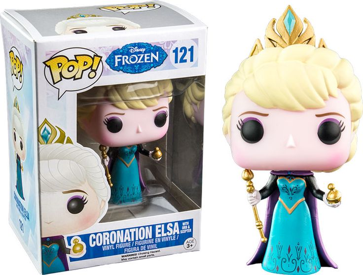 Frozen Coronation Elsa with Orb Pop! Vinyl - Hot Topic Exclusive