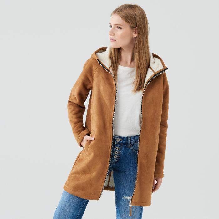 Płaszcz z kapturem, CROPP