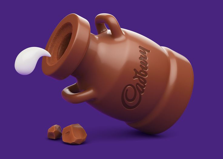 ArtStation - Cadbury Dairy Milk Icons, AJ Jefferies