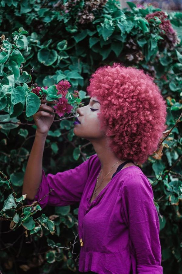 FEATURE: Check out the natural hair textured lovelies featured by Brazilian photographer Chico Ramalho - AFROPUNK| Model: Lisa Luo