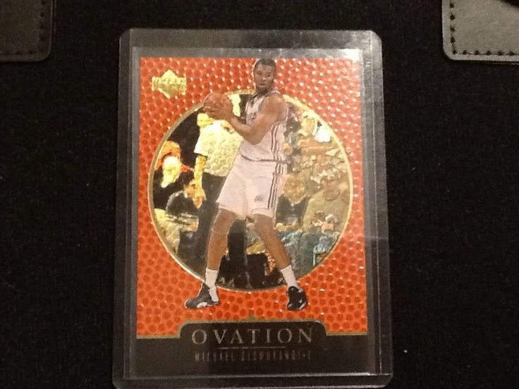 1998 Upper Deck Ovation GOLD Numbered Michael Olowokandi 687/1000 #LosAngelesClippers