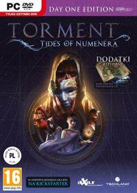 Torment: Tides of Numenera (PC) Torment: Tides of Numenera to opracowana przez zespół inXile gra RPG, będąca w zamyśle duchowym spadkobiercą Planescape: Torment. Akcja toczy się na Ziemi miliard lat w przyszłości, a przedstawiona przez autorów wizja łączy elementy fantasy i science fiction. Całość oparto na licencji stołowej gry fabularnej Numenera.