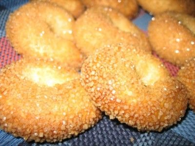 Торкетти - итальянское масляное печенье