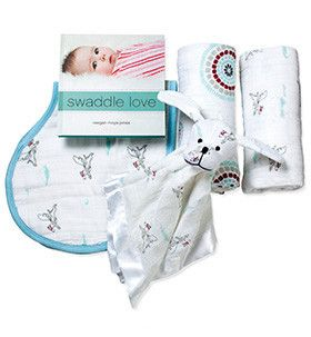Aden & Anais New Beginnings Gift Set - Liam the Bravehttp://gilmourspharmacy.co.nz/collections/gifts-baby/aden-and-anais