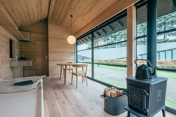 MUJI Unveils Cozy, Minimalist Tiny Homes That Offer Escape From Hectic City Life - DesignTAXI.com