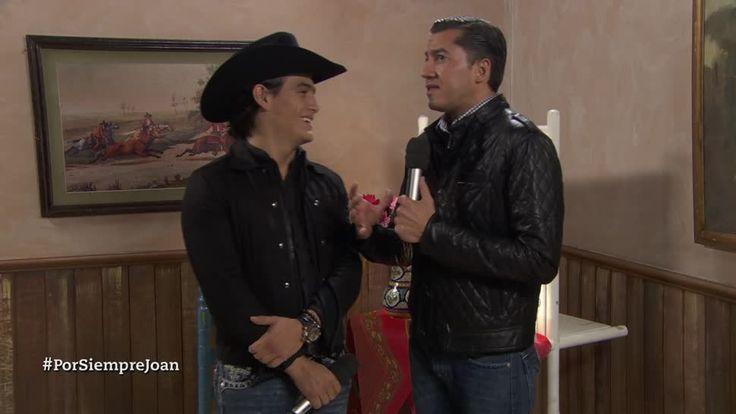 Julián Figueroa cuenta la experiencia que fue interpretar a su padre en la serie Por siempre Joan Sebastian... El poeta del pueblo