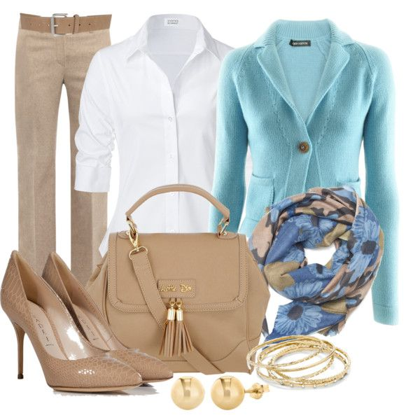 A fashion look from December 2012 featuring IRIS VON ARNIM cardigans, Steffen Schraut blouses and MaxMara pants. Browse and shop related looks.