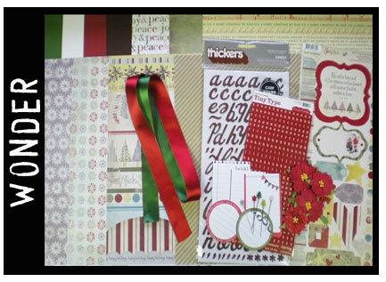 Decembers kit from WeScrap