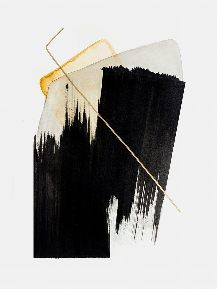 Experimenting / #watercolor #mixedmedia #indiaink #natureinspired #abstractart #abstract #painting #minimal #artprints #prints