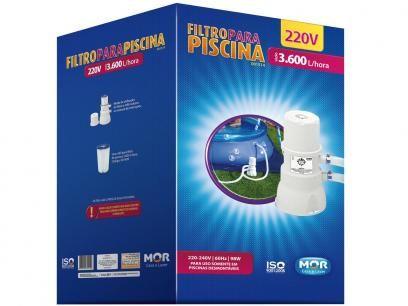 Filtro de Piscina 3600L 1514 - Mor com as melhores condições você encontra no Magazine Edmilson07. Confira!