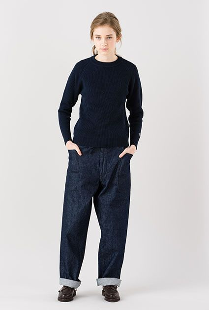 ORCIVAL - crewneck pullover knit | RECOMMEND | Bshop inc.(ビショップ)
