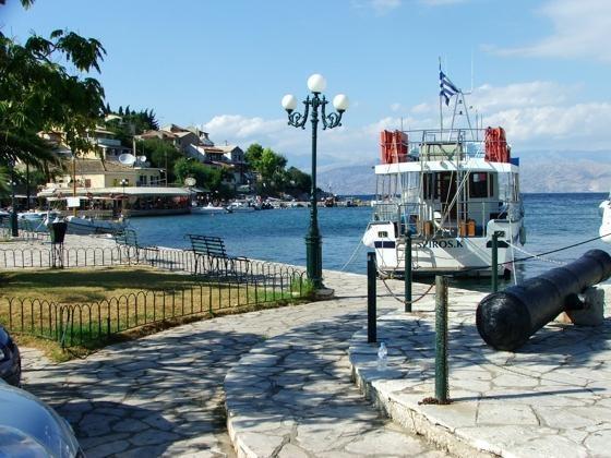 Kassiopi Harbour!