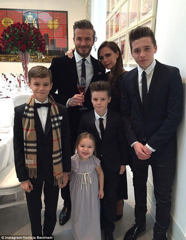 Caring: Victoria, who has been International Goodwill Ambassador for the charity since 2014, is mother to four of her own children with husband David Beckham, 41