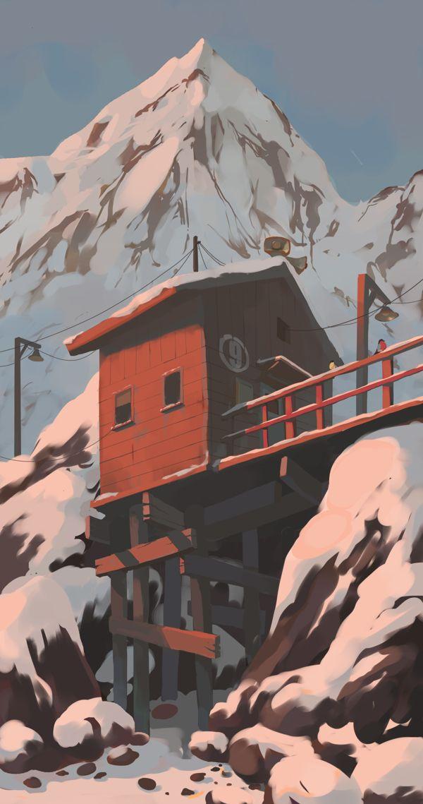 HOME by Andrey Osadchikh, via Behance