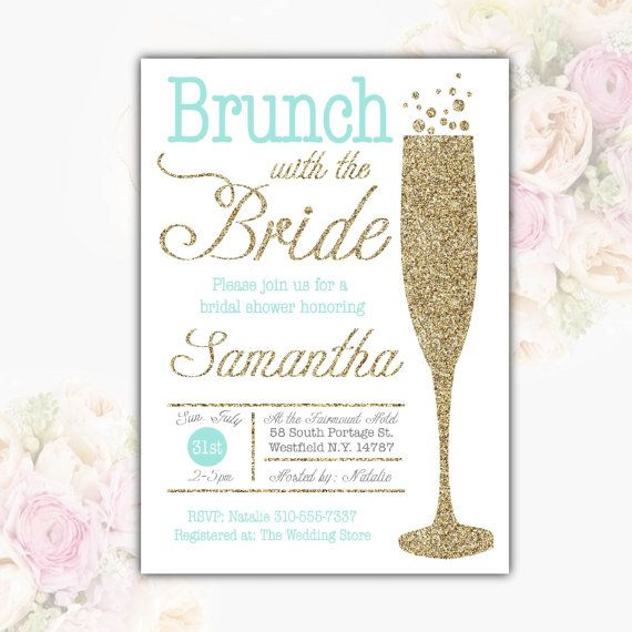 1000 images about on for Champagne brunch bridal shower
