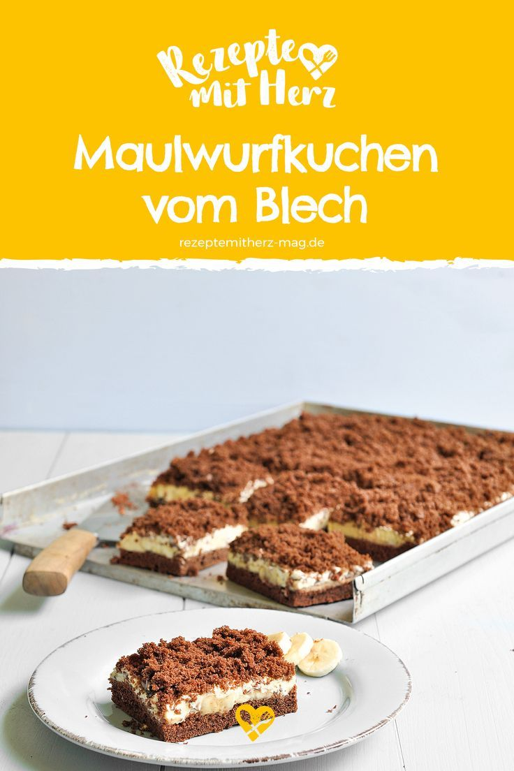 Maulwurfkuchen Vom Blech Dieser Einfache Und Schnelle Blechkuchen
