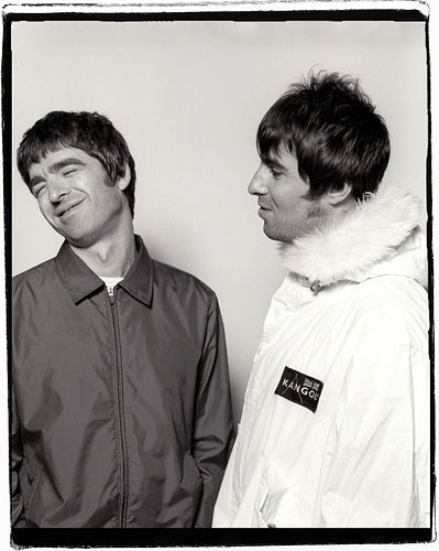 Noel Liam Gallagher. Always good to see them together !
