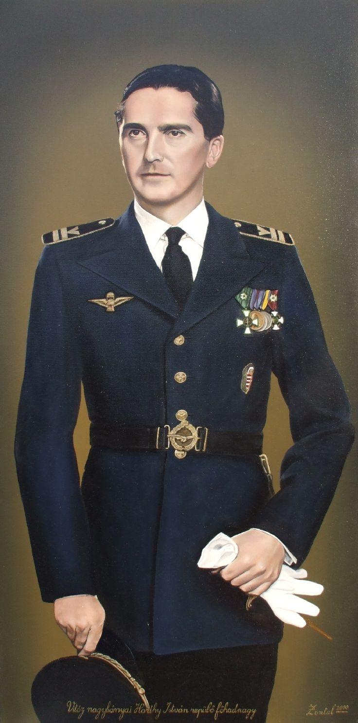 Vitéz nagybányai Horthy István repülő főhadnagy