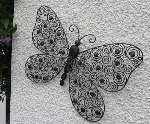 Wall Butterfly, spirals design