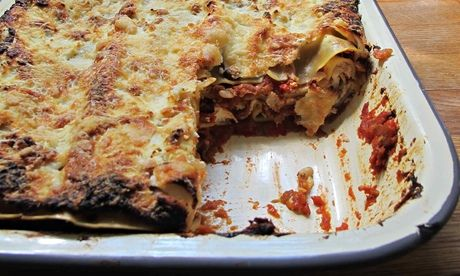 The perfect vegetable lasagne.